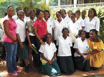 Emmanuel Young Leaders confident