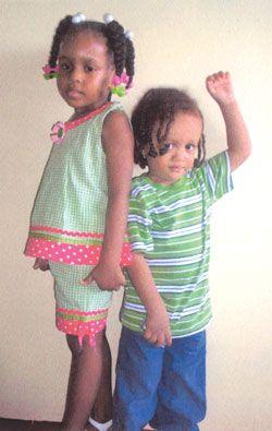 Two precious angels