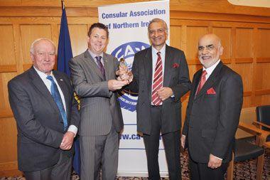 SVG Consul/CA-NI Secretariat honour    Commonwealth Secretary General