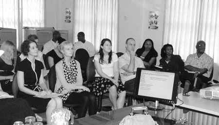 UK teachers, administrator visit SVG