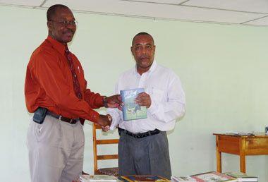 VINLEC donates 200 books to BGS