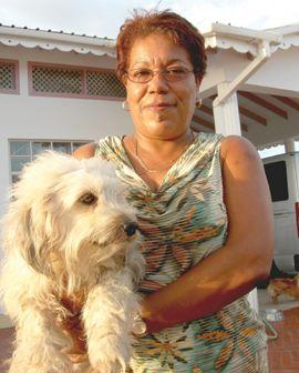 Senator & Woman in Dog Fight