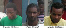 Burglary spree: Three men arrested