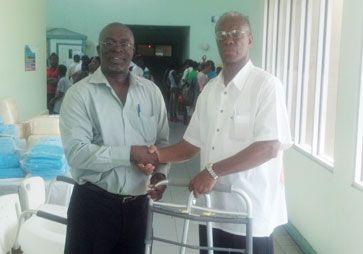 SPOONY donates medical supplies to Milton Cato Memorial Hospital