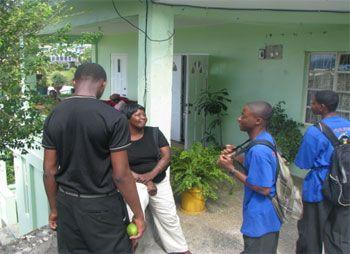 St. Vincent Grammar School Young Leaders: Just keep living!