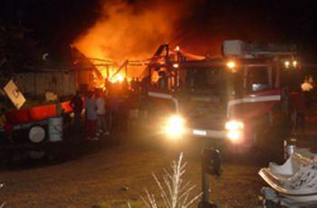 Fire guts Buhlers Yachts Ltd