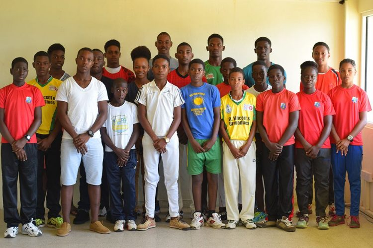 SVGCA Inc launches Lennox John Cricket Academy