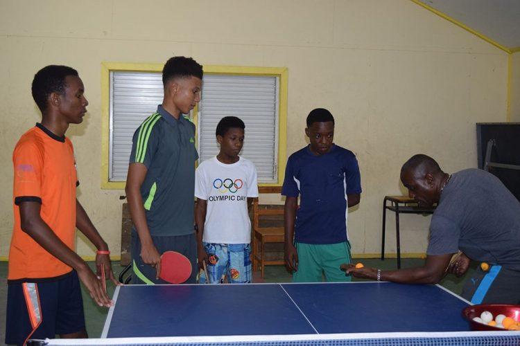 SVG returns to table tennis Junior/Cadet Championships