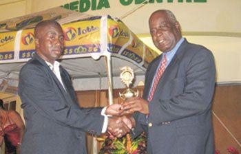 Thomas wins sports award