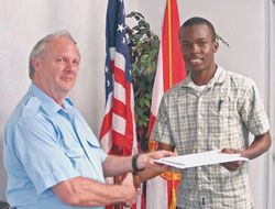 Myers graduates from Seamanship school