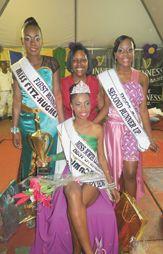 Confident Fayasha takes Miss North Leeward crown