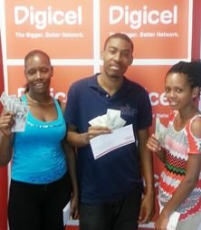 Eight Digicel customers get $500 each