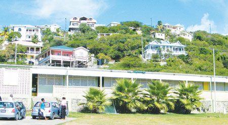 Canouan  Government School under reconstruction