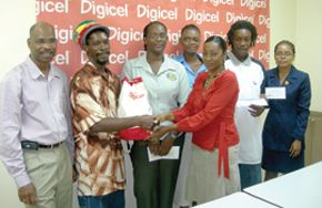 Digicel Carnival promotion winners get prizes