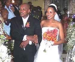 Jomo Cato ties knot in Jamaica