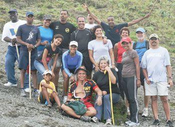 Trinidad and Tobago posse enjoys SVG visit