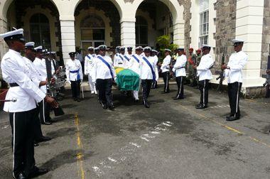 Ex-deputy police chief Bobb laid to rest