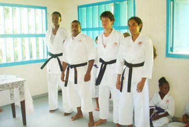 Kiai karate Club in Bequia makes history