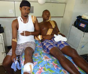 Senior Prison Officer, stepson injured in cutlass attack