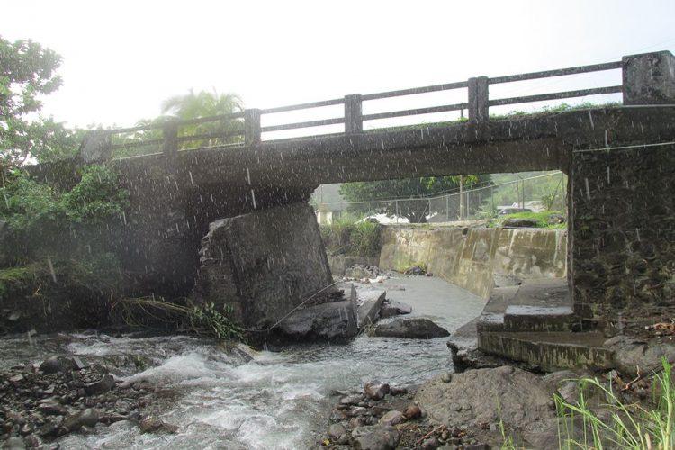 Bridges, roads in North  Leeward  damaged after heavy rains