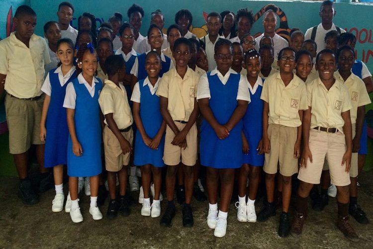 JP Eustace Young Leaders conduct volunteer training in primary schools