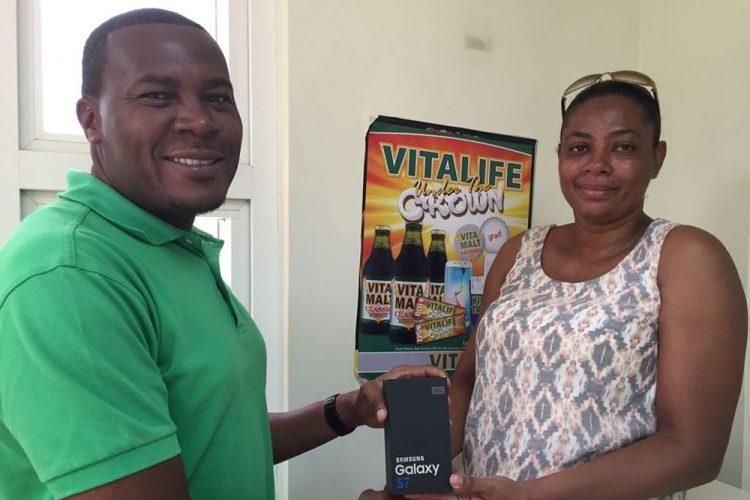 Mesopotamia  resident wins phone in Vitamalt promotion