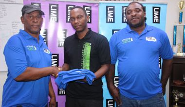 LIME donates T-shirts to Minibus Association