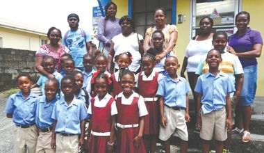 Chateaubelair Methodist School visits Searchlight