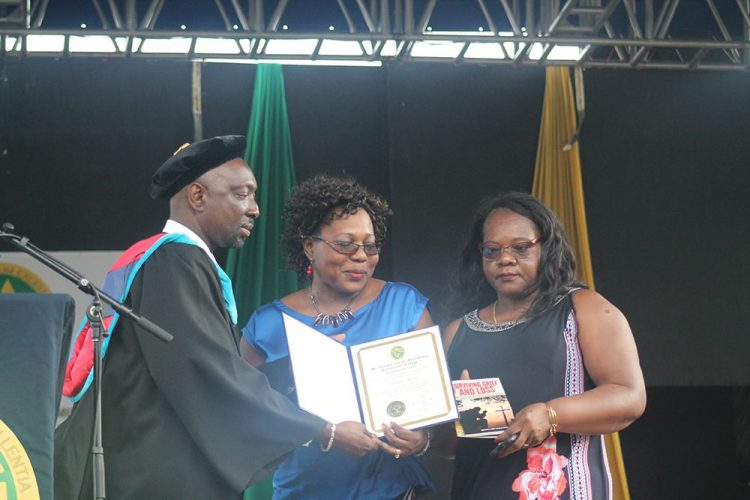 Posthumous awards to parents of four fallen  SVGCC students
