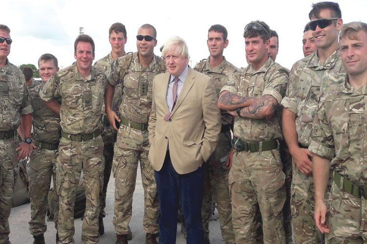 British Foreign Secretary Boris Johnson visits Anguilla, BVI