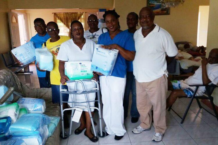 Vincy Liberators  SVG makes donation
