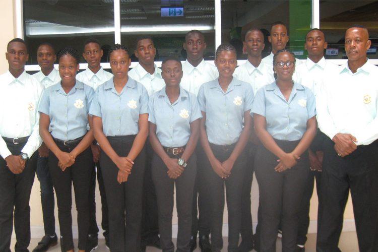 SVG cadets attend  Caribbean Cadet Camp 2018