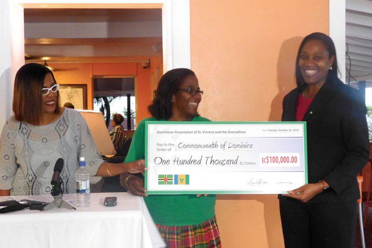 Dominica gets $100,000 rebuilding boost