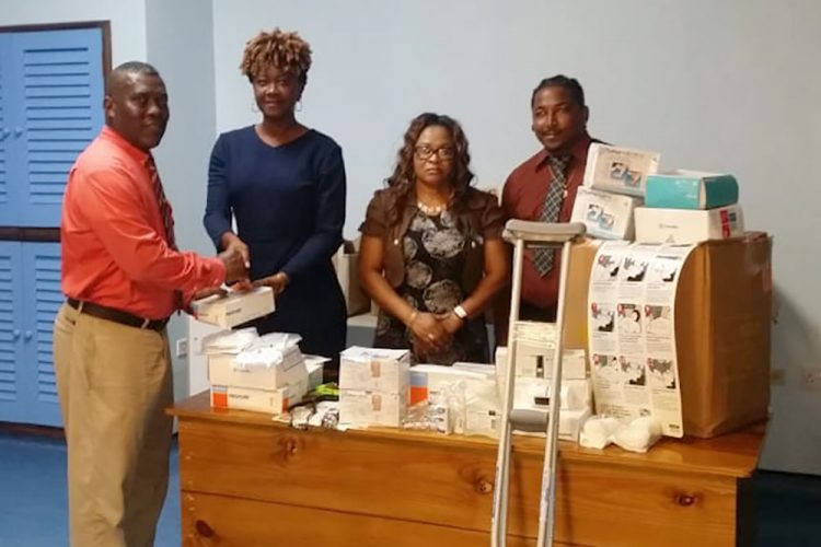 Joseph DaSilva Sr Funeral Home donates to health