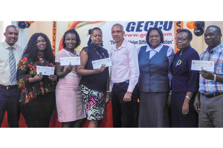 Five persons granted bursaries from GECCU