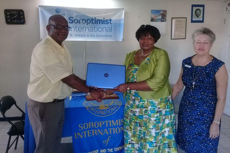 Soroptimist International of SVG Partners with the NOC