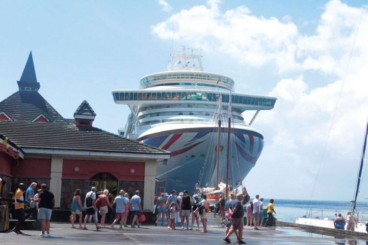 First cruise ship of season calls at Port Kingstowm