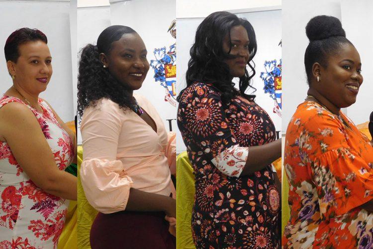 Four UWI Open Campus students receive laptops and bursaries