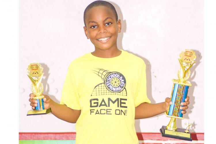 Vincentian takes gold at Barbados junior squash  tournament