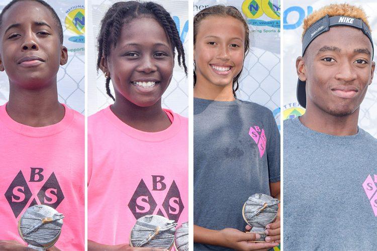 BSSS quartet titles again at invitational swimming championships