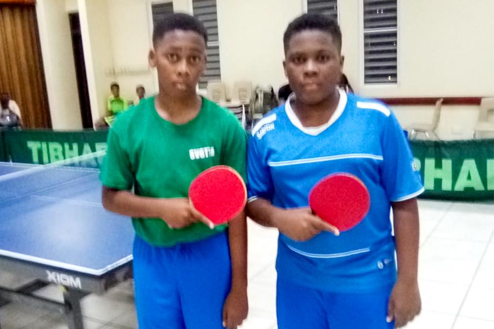 Siblings shine at  National Table Tennis championships