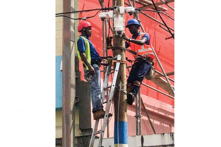 CCTV cameras being installed around capital