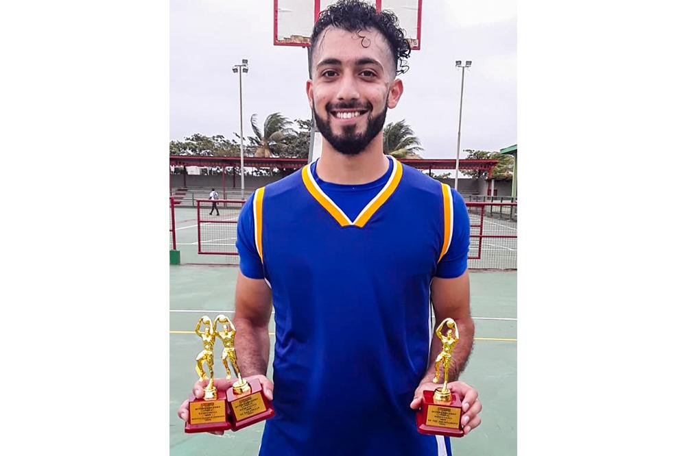 Medical student bosses SVGCC invitational  basketball awards