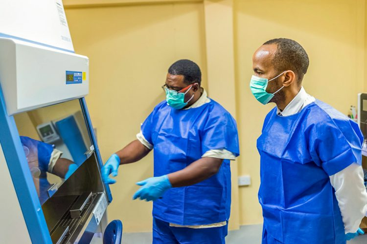 SVG gets its own molecular laboratory unit