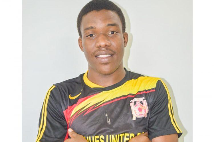Avenues United Striker setting new goals