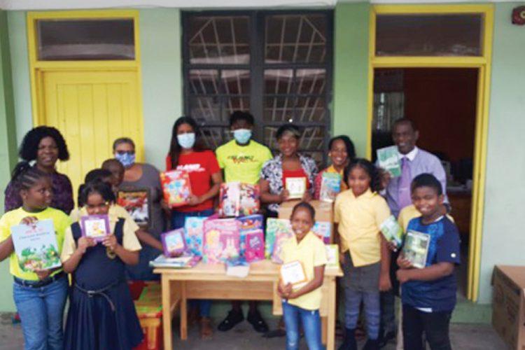 Lodge Village Government School gets donation